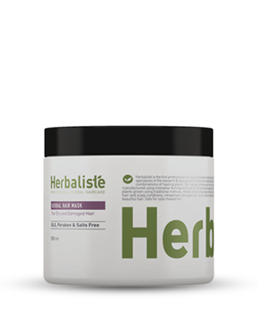 Herbal Hair Mask for Dry & Damaged Hair